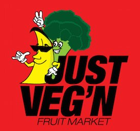 Just Veg n Fruit Market Logo